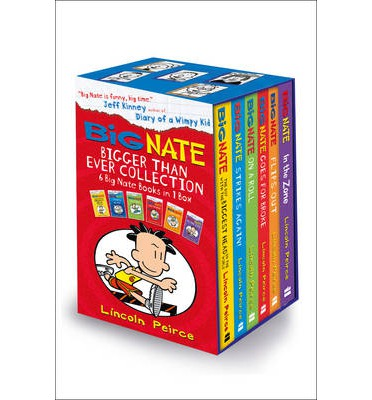 Top ebook free download Big Nate - Untitled 6 Book Box Set PDF by Lincoln Peirce