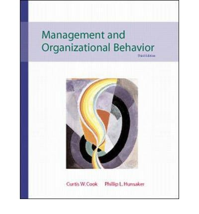 management and organization behavior Thus organization behavior is based on basically on management philosophy, values, vision and goals which would drive the organizational culture basically the organizational culture is determining by the leadership style, communication and group dynamics of the particular organization.