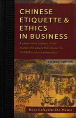 Chinese Etiquette And Ethics In Business Boye Lafayette