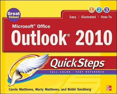 Microsoft Office Outlook 2010 QuickSteps