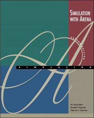 simulation with arena exercise chapter 7 Students are placed in teams of two or three and the main exercise in  chapter 1: what is simulation  œpreliminary review on arena 701 (show the simulation.
