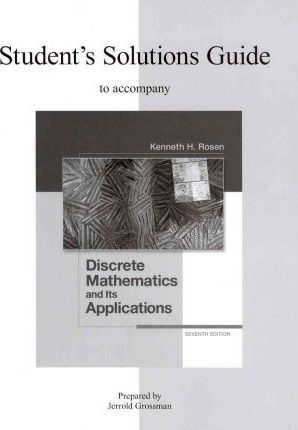 discrete mathematics and its applications solution manual even problems