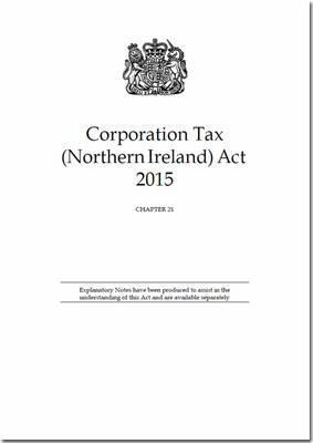 Corporation Tax (Northern Ireland) Act 2015 : Chapter 21