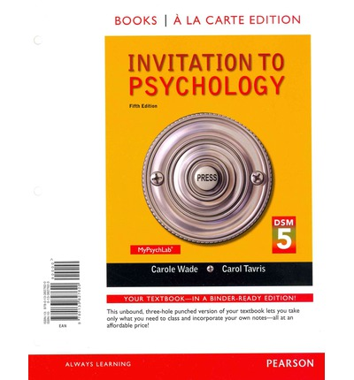 psychology 5th canadian edition wade pdf