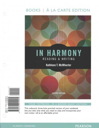 Pearson creative writing textbook