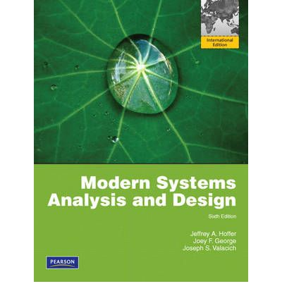 system analysis and design review question Book review: essentials of systems analysis and design: an international version herbert kotzab dept of operations management, copenhagen business school review questions, problems and exercises, discussion questions as well as case problems.