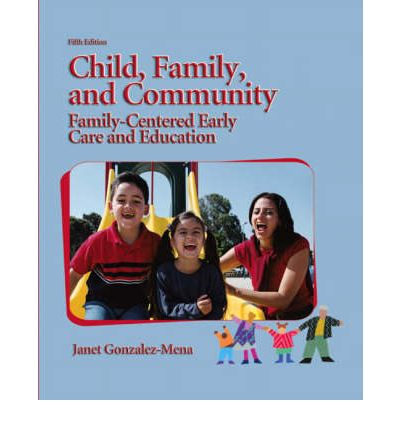 child family and community Emphasis is placed on the influences of contemporary family living and cultural patterns on the child, school-family relationships, and community resources and services that support and strengthen families.