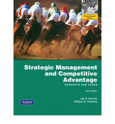 strategic management and competitive advantage pdf