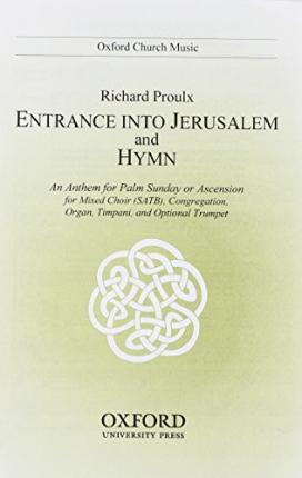 Entrance into Jerusalem and Hymn : Vocal Score