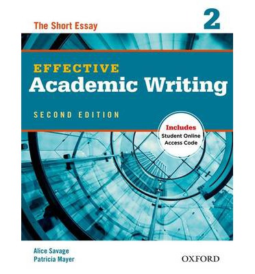 academic writing book Effective academic writing instills student confidence and provides the tools necessary effective academic writing second edition is now available as an e-book.
