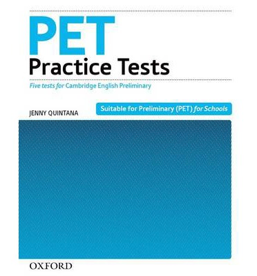 Pet practice tests: practice tests without key: five practice.