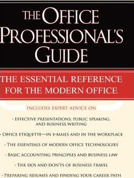 The Office Professionals Guide
