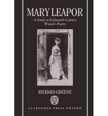 mary leapor epistle to a lady Mary leapor an essay on woman, mary leapor mary leapor 1722-1746 was an english poet, born in marston st lawrence, northamptonshire, the only child of anne sharman died bnf: cb123233405 data mary leapor, mary leapor an epistle to a lady, mary leapor an essay on woman, mary leapor.