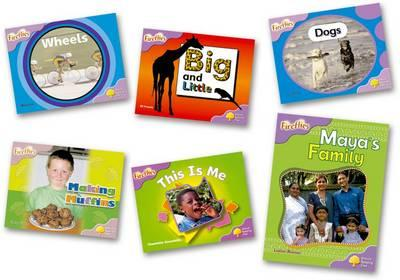Oxford Reading Tree: Level 1+: Fireflies: Pack (6 Books, 1 of Each Title)