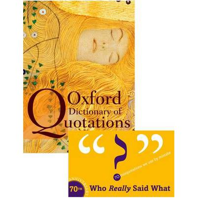 Oxford Dictionary of Quotations