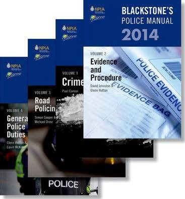 Blackstone's Police Manuals 2014