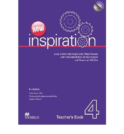 New Inspiration Level 4 : Teacher's Book, Test and Audio CD Pack