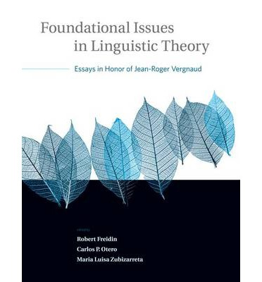 essays in honor of jean-roger vergnaud Get this from a library foundational issues in linguistic theory : essays in honor of jean-roger vergnaud [robert freidin carlos peregrin otero maria luisa.