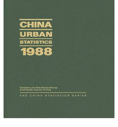 china urban statistics 1988 state statistical bureau of the people 39 s republic of china. Black Bedroom Furniture Sets. Home Design Ideas