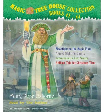 Magic Tree House Collection, Books 41-44: Moonlight on the Magic Flute/A Good Night for Ghosts/Leprechaun in Late Winter/A Ghost Tale for Christmas Time