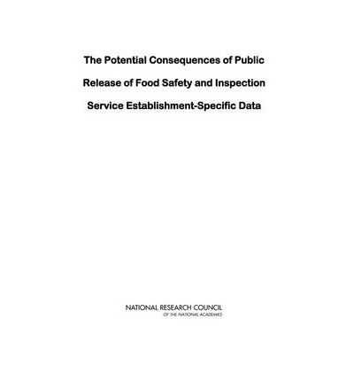 The Potential Consequences of Public Release of Food Safety and Inspection Service Establishment-Specific Data