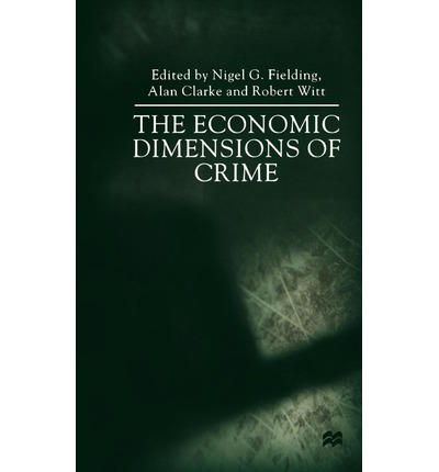 economics of crime The economic consequences of organized crime: evidence from southern italy paolo pinotti universit a bocconi first draft: april 2011 this draft: november 2011.