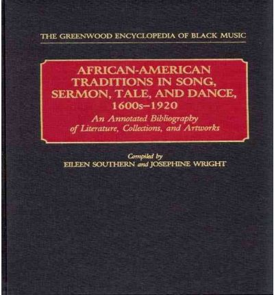 annotated bibliography african american history