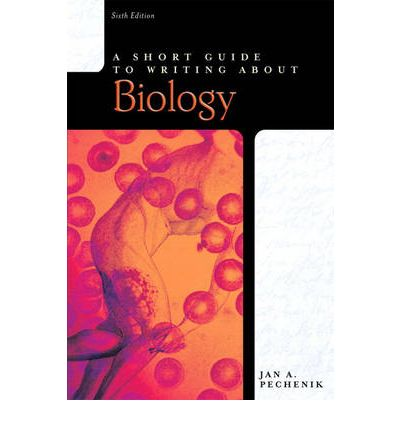 A short guide to writing about biology