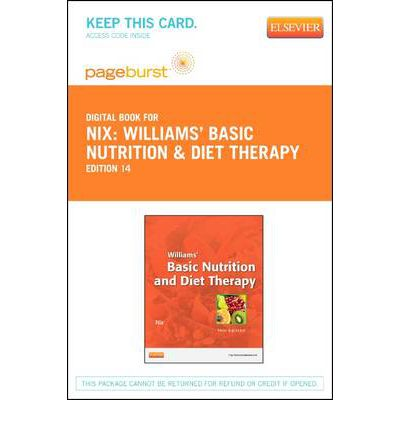 Test Bank for Williams' Basic Nutrition & Diet Therapy, 14th Edition: Staci Nix