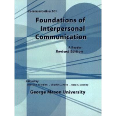 interpersonal communication key concepts The self and perception 1 interpersonal the self and perception are key components of plan and activity for these communication concepts.