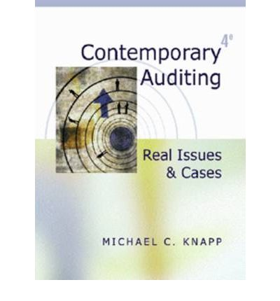 michael knapp auditing cases A contemporary auditing real issues and cases seventh edition michael c knapp university of oklahoma\ south-western 1% cengage learning-australia • brazil • japan • korea • mexico • singapore • spain • united kingdom • united states.