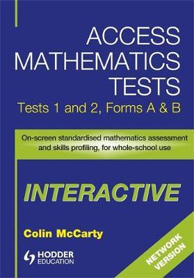 Access Mathematics Tests Interactive (AMTI) 1 & 2 Network CD-ROM