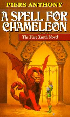 7 Xanth novels by Piers Anthony in papernack