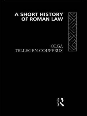 A Short History of Roman Law