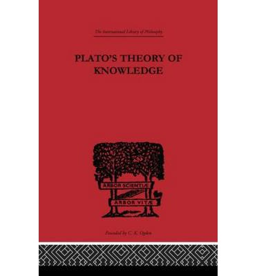 Platos Theory of Knowledge