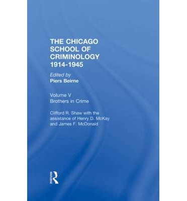 An Overview of the Chicago School Theories of Criminology
