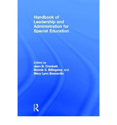 administrative aspect of special education Professional ethical principles and practice standards reinforce for special education in the administration and supervision of special.