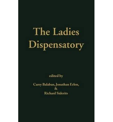 The Ladies Dispensatory