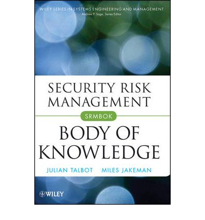 Security Risk Management Body Of Knowledge Pdf