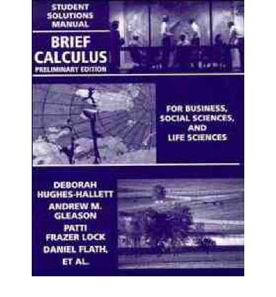 Calculus Hughes hallett Solutions manual pdf