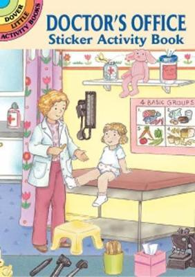 Doctor's Office Sticker Activity Book
