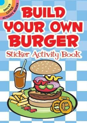 Build Your Own Burger Sticker Activity Book