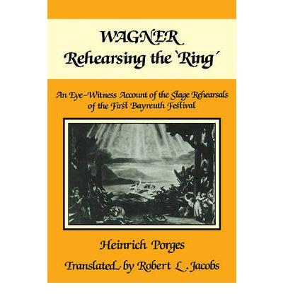 Wagner Rehearsing the