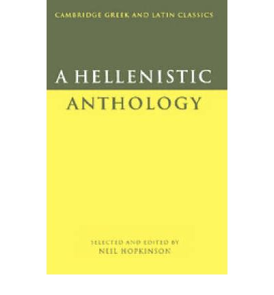 A Hellenistic Anthology