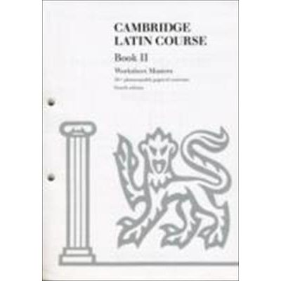 Cambridge Latin Course Book II Worksheet Masters