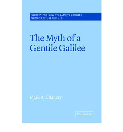 The Myth of a Gentile Galilee