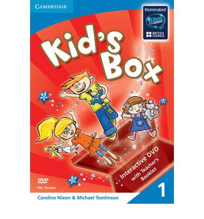 Kid's Box Level 1 Interactive DVD (Pal) with Teacher's Booklet: Level 1