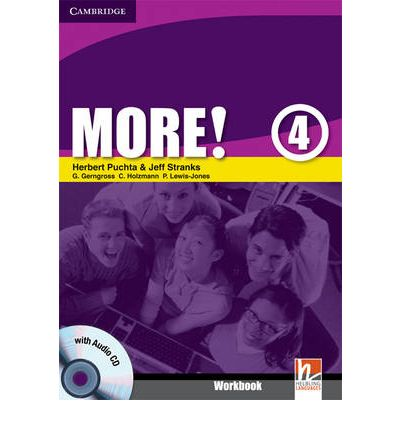 More! Level 4 Workbook with Audio CD: Level 4