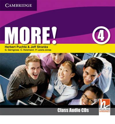 More! Level 4 Class Audio CDs (2): Level 4