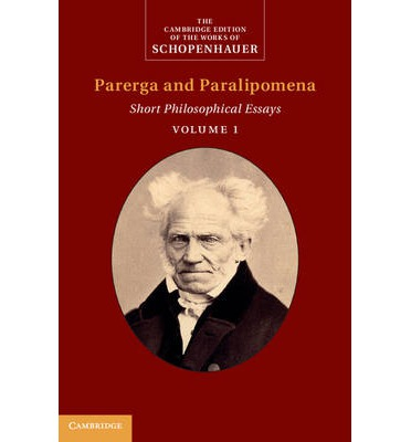schopenhauer essays Search the history of over 339 billion web pages on the internet.